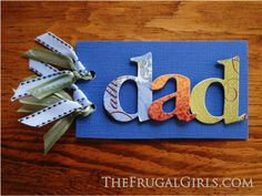 Free Printable Father's Day Coupons! ~ at TheFrugalGirls.com {have the kids print these fun coupons, then make a fun coupon book for Dad!} #fathersday