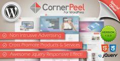 download WordPress Corner Peel Plugin