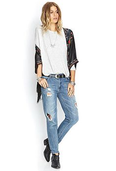 Heathered Dolman Top | FOREVER21 - 2000122675