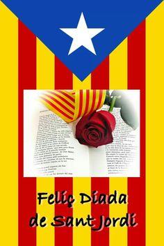 Avui celebrem la Diada de Sant Jordi, una bonica tradició de regalar una rosa y un llibre