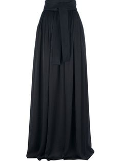Lanvin High-Waisted Maxi Skirt. Love that it kinda sorta looks like hakama.
