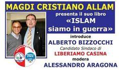 Magdi Allam presenta la lista liberiamo Casina. Reggio, List, Blog, Blogging