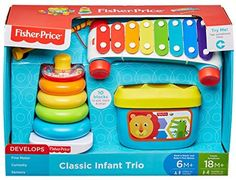 Jouets Fisher Price, Fisher Price Baby Toys, Toddler Birthday Gifts, Fine Motor Skills Development, Toddler Playroom, Third Baby, Niece And Nephew, Baby Play, Infant Activities