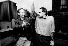 Walter Becker and Donald Fagen, somewhere in Manhattan, 1993.