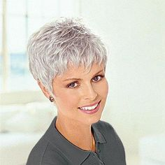 Image result for short hair styles for women over 50 gray hair   shortfallhairstyles Capelli Grigi 38f38a5b6ac6