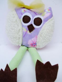 Whimsical Owl Soft Stuffed Animal Birthday Party Favors by OurPlaceToNest