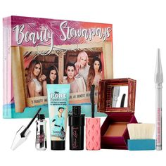 New At Sephora - Benefit Cosmetics Beauty Stowaways Influencer Must-have Set Best Selling Makeup, Best Makeup Products, Beauty Products, Benefit Cosmetics, Beauty Secrets, Diy Beauty, Fibre Gel, Natural Brows, Natural Beauty