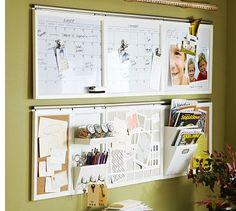 wall organization for calendar, inquiries, brides' files, memos, etc.
