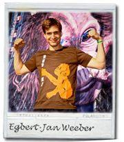 Egbert Jan Weber supports HUG ME for Monkey Business