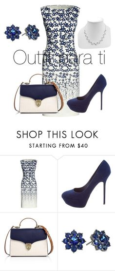 """Sin título #23"" by karyelis-1 ❤ liked on Polyvore featuring Canvas by Lands' End, Sergio Rossi, Aspinal of London and Nina"