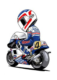 Freddie Spencer, Motorcycle Bike, Vintage Motorcycles, Racing Motorcycles, Vintage Bikes, Speed Bike, Mini Bike, Bike Art, Motosport