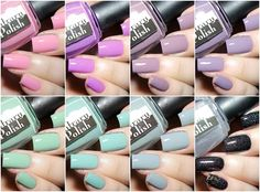 Fashion Polish: Contrary Polish Spring It On Collection + Color4Nails exclusives swatches & review!