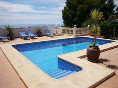 Moraira Villa Rentals in Spain | 5 bedroom holiday villa in Moraira #spain #holiday #swimmingpool