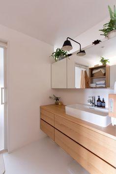 nionohama-apartment-house-renovation: ALTS DESIGN OFFICEが手掛けた洗面所/お風呂/トイレです。