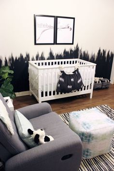 Project Nursery - Our envy-worthy nursery designs are the kind that make parents-to-be want to sleep in them even before their baby is born! See why this local Nebraska couple feels at home in their new nursery.