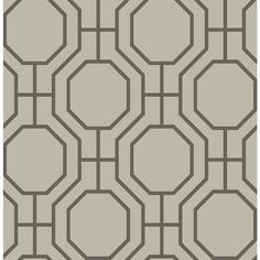 Shop Brewster Wallcovering Taupe Strippable Non-Woven Paper Unpasted Classic Wallpaper at Lowes.com