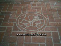 tégla padló - brick floor