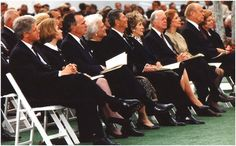 Nixons Funeral [Clintons, Bushes, Reagans, Carters, Fords]