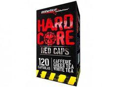 Hardcore Red Caps Natural 120 Cápsulas - Atlhetica Evolution com as melhores condições você encontra no Magazine Krvariedades.…