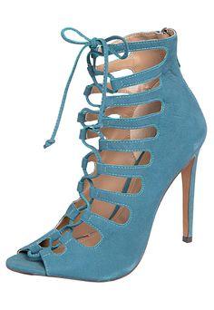 Sandália My Shoes Amarração Verde - Compre Agora   Dafiti Brasil