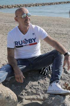 Rugby, Mens Tops, T Shirt, Fashion, Supreme T Shirt, Moda, Tee Shirt, Fashion Styles, Fashion Illustrations