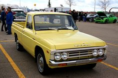 Car Show Classic: Time Warp 1975 Mazda B1800 pickup truck