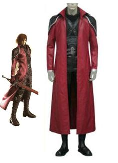 Final Fantasy VII Genesis Rhapsodos Cosplay Costume on sale, a perfect Cosplay Costumes with high quality and nice design. Buy it now or discover your Cosplay Costumes http://goo.gl/9dqq1