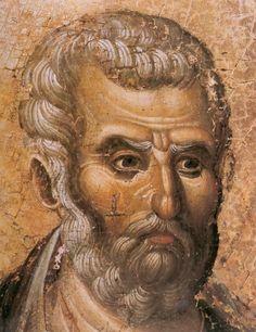 фрагмент Byzantine Icons, Byzantine Art, Religious Icons, Religious Art, Fresco, Tempera, Human Life Cycle, Face Icon, Russian Icons