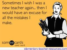 """Yes!  By the way, at what point do you have to stop using the excuse that you're a """"new"""" teacher?  I'm in my 5th year but sometimes I still feel brand new...  There is always more to learn and new ways to improve as a teacher...and there are always plenty of mistakes to be made...!"""