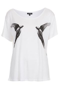 Mirror Bird Tee. I really think that Harry's girlfriend should wear this! It would be so funny!!