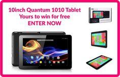 Win a Quantum 1010 Tablet