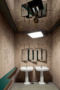 Restaurante da by Dimore Studio (Foto: Filippo Bamberghi) Cafe Interior Design, Contemporary Interior Design, Bathroom Interior Design, Interior Design Inspiration, Interior Architecture, Interior And Exterior, Interior Decorating, Decorating Ideas, Restaurant Bathroom