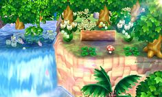 People are hacking their Animal Crossing: New Leaf towns, and it's beautiful - ac - Tiere Animal Crossing 3ds, Animal Crossing Pocket Camp, Design Set, Leaf Animals, Motif Acnl, Ac New Leaf, Happy Home Designer, Animal Games, Kawaii