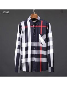 Burberry Shirts For Men Burberry Shirts For Men, Cotton Shirts For Men, Burberry Men, Men Sweater, Sleeves, Sweaters, Style, Men Styles, Swag