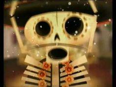 ▶ VIVA CALACA!! - YouTube Cute kid friendly animated day of the dead Calacas video