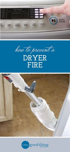 """Today's post comes straight from the file of """"stuff I should probably be doing more often."""" I want to talk about your clothes dryer, and how to clean and maintain it properly. It might not seem like a"""