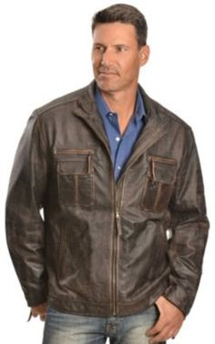 1950s Mens Style Leather Jacket  http://www.vintagedancer.com/1950s/1950s-mens-clothing/