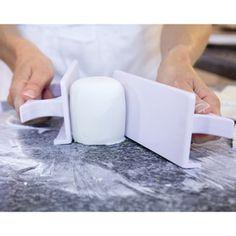 Side Smoother for Fondant   Cake decorating tool - Kitchen Krafts