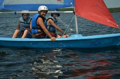 sailing at Camp Kitchi Overnight Summer Camps, Canoe, Kayaking, Sailing, National Parks, Candle, Kayaks, State Parks