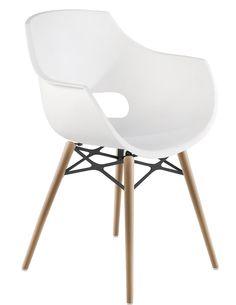9e298d756b9b6a Opal Wox Designstuhl im Eames-Look Natürliche Textur
