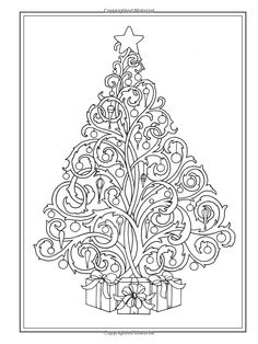 310 Best Adult Coloring Christmas Images Coloring Pages