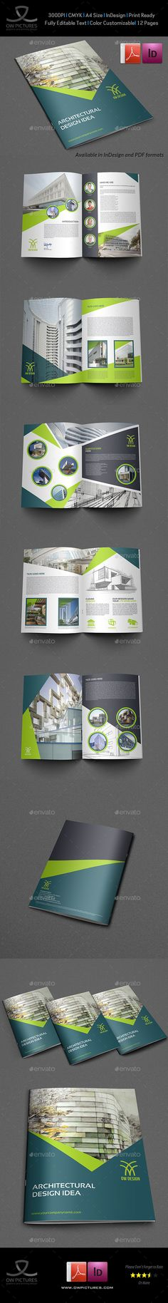 Co Landscape Brochure 22 Pages Brochures, Photoshop and Brochure - landscape brochure
