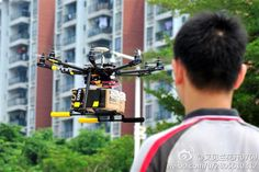 Drone Delivery Services Are Booming In China | The state of drone couriers in China couldn't contrast more with the situation here in the United States.
