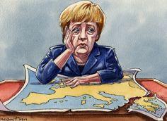 Financial Times: Ο μοναδικός λόγος για τον οποίο η Μέρκελ θέλει να κρατήσει την Ελλάδα στο ευρώ