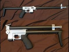 Homemade gun: Featherweight Bolt Action Takedown .22 Pack Rifle - YouTube