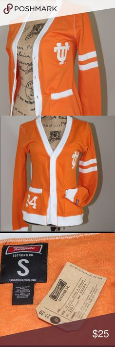 NWT tailgate UT VOLS 🍊 cotton cardigan sz S tailgate clothing co UT VOLS cotton button up cardigan sz S NWT tailgate clothing Jackets & Coats