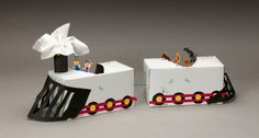 Tissue-Box Train craft