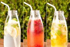 Faça refrescos deliciosos e com zero açúcar.