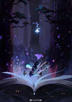 Onmyoji card game artists pt 1 - Imgur Anime Artwork, Cool Artwork, Aesthetic Art, Aesthetic Anime, Anime Butterfly, Game Card Design, Space Illustration, Anime Art Girl, Anime Girls