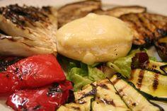 Grigliata di verdure e tomino piemontese